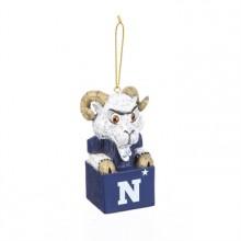 Navy Midshipman Tiki Mascot Ornament