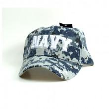 United States Navy Blue Digital Camo Hat