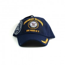 United States Navy Disabled Veteran and Proud of It Hat