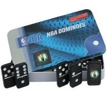Boston Celtics Double Six Domino Set