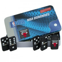 Chicago Bulls Double Six Domino Set