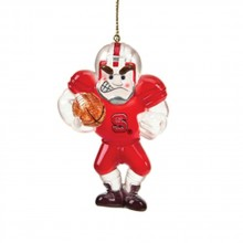 North Carolina State Wolfpack Acrylic Running Back Ornament