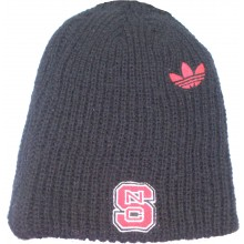 NCAA Officially Licensed North Carolina NC State Wolfpack Long Knit Black Beanie Hat Cap