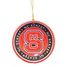 North Carolina State Wolfpack Ceramic Mini Plate Ornament