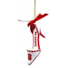 North Carolina State Wolfpack High Heeled Shoe Ornament