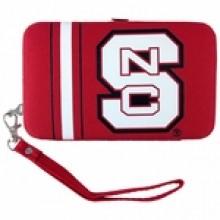 "North Carolina Wolfpack Distressed Wallet Wristlet Case (3.5"" X .5"" X 6"")"
