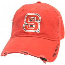North Carolina State Wolfpack Distressed Adjustable Hat