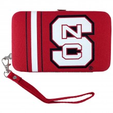 North Carolina State Wolfpack Distressed Wallet Wristlet