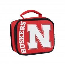 NCAA Nebraska Cornhuskers Sacked Insulated Lunch Cooler Bag