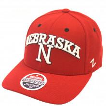 Nebraska Cornhuskers Bold Logo Adjustable Hat