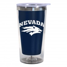 Nevada Wolfpack 16-Ounce Color Change Tumbler with Lid