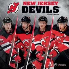 New Jersey Devils 12 x 12 Wall Calendar 2019