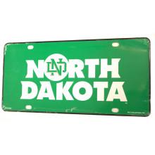 North Dakota Fighting Hawks Aluminum License Plate