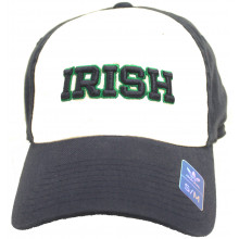 "Notre Dame Fighting Irish ""IRISH"" Flex Fit S/M Hat"