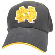 Notre Dame Fighting Irish Plush Logo Adjustable Hat