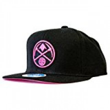 Denver Nuggets Neon Logo Adjustable Flat Bill Hat