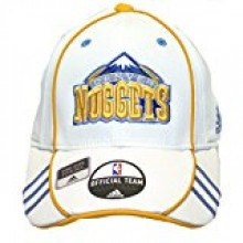 Denver Nuggets White all Team Flex Fit Hat