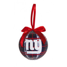 New York Giants 100 MM LED Ball Ornament