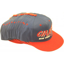 New York Giants 12 Pack of Vintage Flat Bill Embroidered Snapback Hats