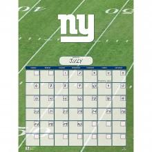 New York Giants Jumbo Dry Erase Perpetual Calendar