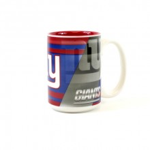 New York Giants 15oz Shadow Ceramic Mug