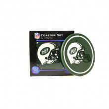 New York Jets 4 pack Flexible Coaster Set
