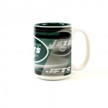 New York Jets 15oz Shadow Ceramic Mug