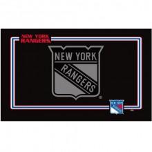 New York Rangers Premium Neoprene Pet Dog Bowl Mat Placement Non-Skid