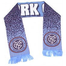 MLS NYC Football Club Speckled Fringed Scarf
