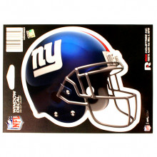 "New York Giants 6"" Helmet Die-Cut Window Decal"