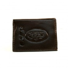 New York Jets Brown Leather Wallet