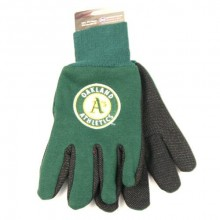 MLB Oakland A's Team Color Utility Gloves