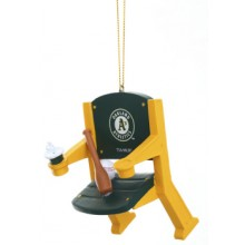 Oakland A's Team Stadium Chair Ornament