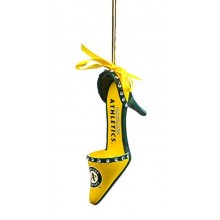 Oakland A's Team High Heel Shoe Ornament