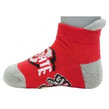 Ohio State Buckeyes Baby Ankle Tab Socks