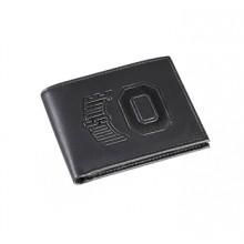 Ohio State Buckeyes Black Leather Bi-Fold Wallet