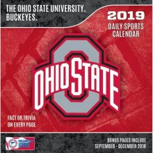 Ohio State Buckeyes 2019 Boxed Desk Calendar