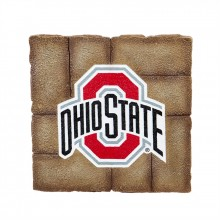 Ohio State Buckeyes 12 inch x 12 inch Garden Stone