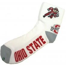 Ohio State Buckeyes Brutus Quarter Socks