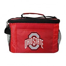 NCAA Officially Licensed Ohio State 6-Pack Insulated Cooler Bag