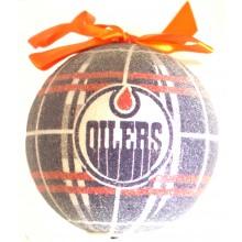 Edmonton Oilers 100 MM LED Ball Ornament