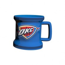 OKC Thunder Mini Mug 2 oz Shot Glass