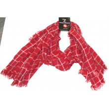 NCAA Licensed Oklahoma Sooners Plaid Oblong Scarf