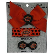 Oklahoma State Cowboys 3 Piece Hair Accessories