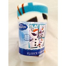 "Disney Frozen Olaf ""Pics"" 40"" X 50"" Fleece Throw"