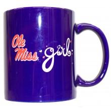 Ole Miss Rebels Team Color Ole Miss Girl 12oz Mug