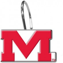 "NCAA Officially Licensed University of Mississippi  ""Ole Miss Rebels"" Shower Hook Set"