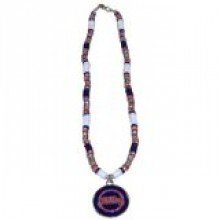 Ole Miss Rebels Shell Necklace, 18-Inch, White