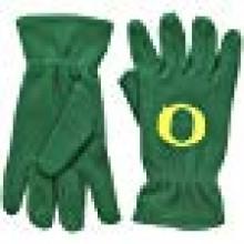 NCAA Oregon Ducks Men's Fleece Gloves with O, Green
