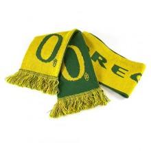 NCAA Licensed Oregon Ducks Reversible Logo Fringed Scarf